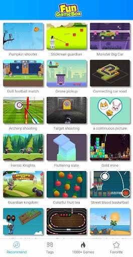 Fun GameBox -- jeu de voiture/jeux de tir  screenshots 1