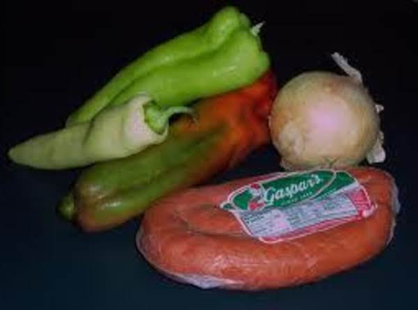 Portuguese Chourico And Peppers