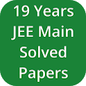 19 Years JEE Main Solved Papers icon