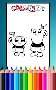 How To Color CupHead Cup Head Coloring Game Mod Apk