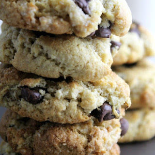 Gluten Free Chocolate Chip Cookies with Tapioca Starch.