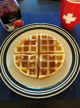 Photo: Home made waffle !