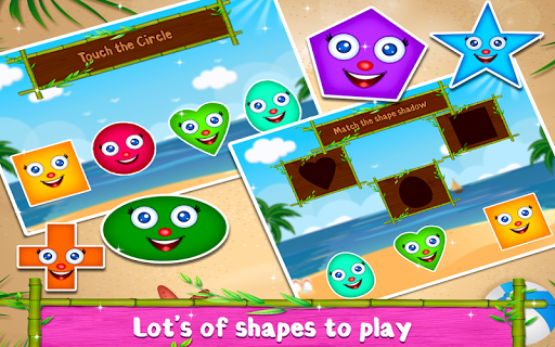 Kids Shapes Learning -  Educational Game For Kids  captures d'écran 4