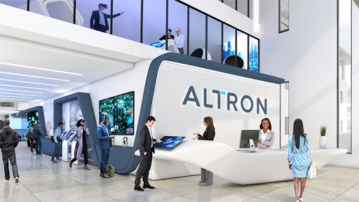 Altron's planned reception area.