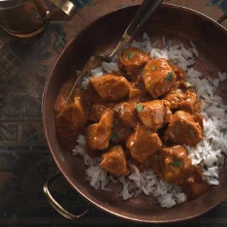 No-Butter Chicken with Jasmine Rice Recipe