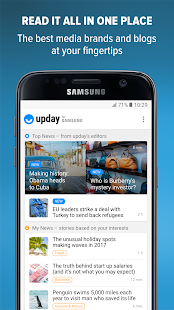 upday news for Samsung- screenshot thumbnail