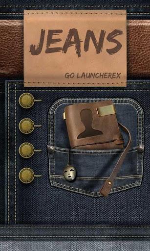 Jeans GO Launcher Theme