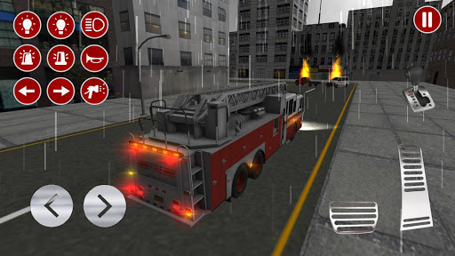 Real Fire Truck Driving Simulator: Fire Fighting apkmr screenshots 6