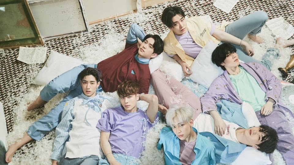 GOT7 Lullaby group shot