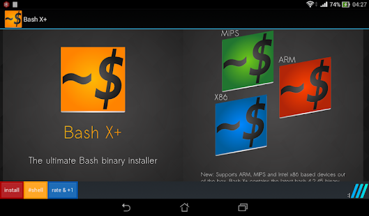 Bash Shell X+ vX+102 [Latest] | APK4Free