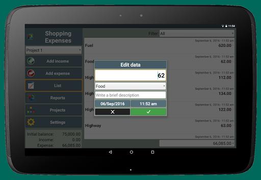 Shopping Expenses screenshot 11