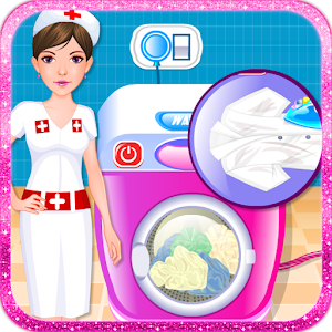Hospital Clothes Wash Ironing for PC and MAC