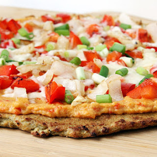 Atkins Cauliflower Crust Pizza.