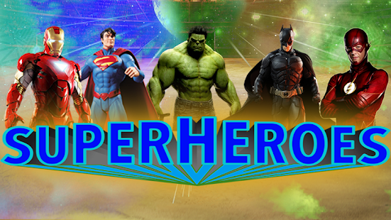 Superheroes Fighting Games: Grand Immortal Gods