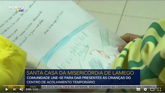 Vídeo - Comunidade de Lamego une-se para dar presentes a crianças de acolhimento temporário