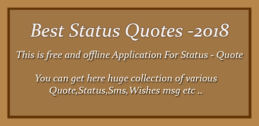 Best Status Quote for 2018 for PC