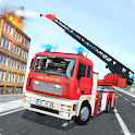 Real Firefighter Training 2020 - Fire Truck Rescue icon