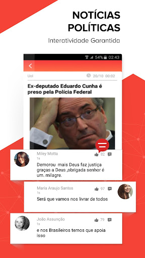 Central das Notícias- Esporte, fofocas dos famosos app (apk) free download for Android/PC/Windows screenshot