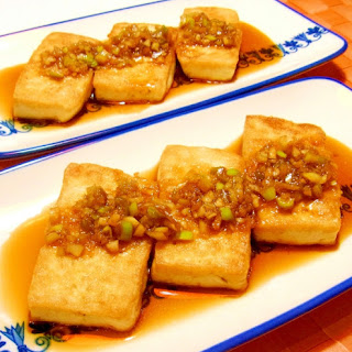 Tofu Steak with Salty-Sweet Soy Sauce