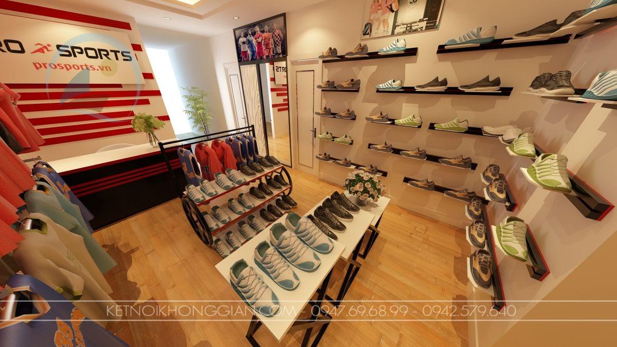 Thiết kế cửa hàng quần áo thể thao 3