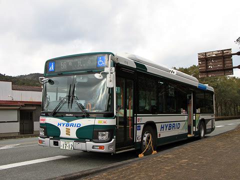 三重交通「松阪熊野線」 1712_20 滝原宮前にて_01
