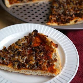 Smoked Herring Pizza.