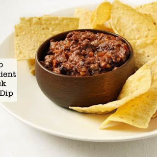 2 Ingredient Black Bean Dip