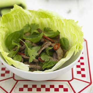 Thai Lamb Lettuce Cups.