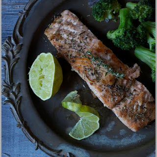 Herb Roasted Salmon with Lime
