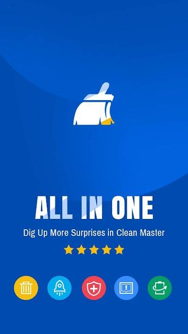 #8. Clean Master - Antivirus (Android)
