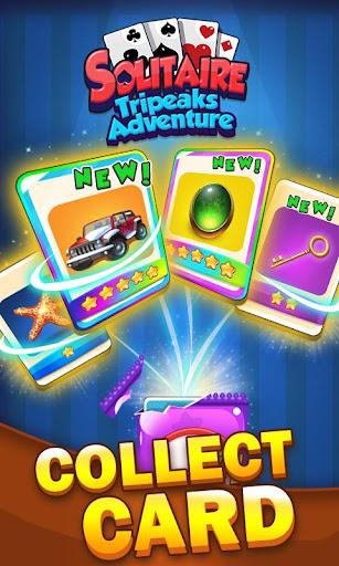 Solitaire Tripeaks Adventure - Free Card Journey screenshots 5
