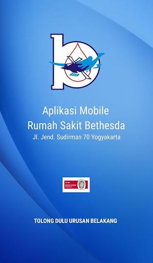 aplikasi mobile rumah sakit bethesda screenshot 1