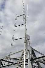 Photo: Got it done. VHF on left, UHF in centre and 1.6 Gig to the right