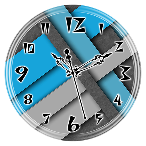 Blue Grey Clock Live Wallpaper Android APK Download Free By Lo Siento