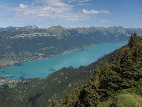 Photo: Here's the other lake, the Brienzersee