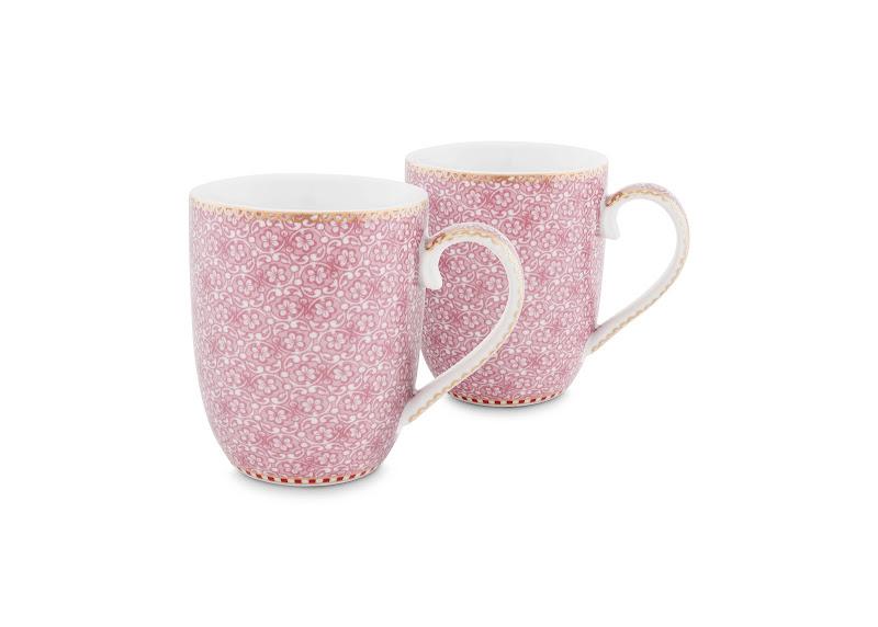 PIP Studio - cadeau doos met 2 roze mokken