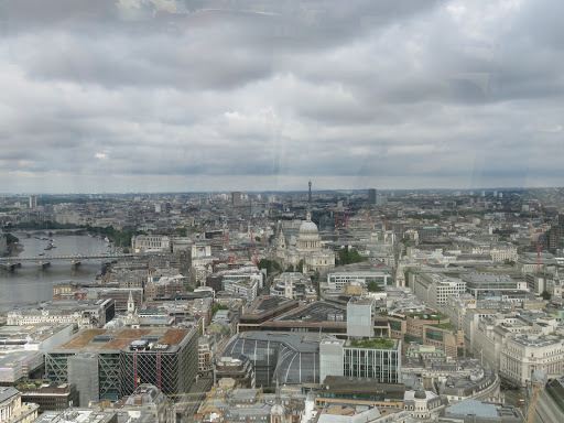 SkyGarden London views