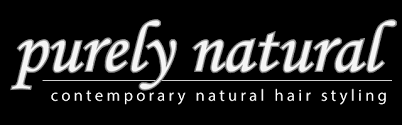 Purely natural logo