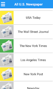 U.S Newspapers for PC-Windows 7,8,10 and Mac apk screenshot 14