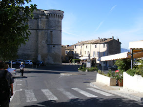 Photo: Day 10 of our travels starts with a return visit to the very popular perched visit of Gordes - which is thankfully still quiet at this time of the morning. The 10th century castle at the village's center was remodeled during the Renaissance.