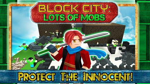 Block City Lots of Mobs