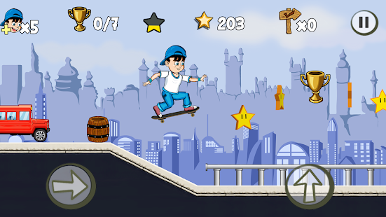 Skater Kid APK for Blackberry   Download Android APK GAMES & APPS