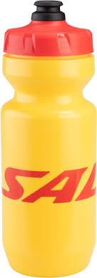 Salsa Purist Water Bottle: 22oz, Logo, Yellow
