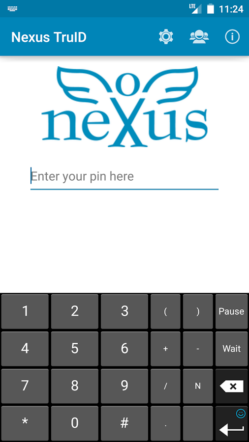 Nexus TruID- screenshot