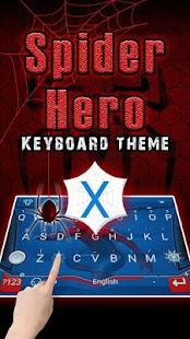 Spider Hero Theme&Emoji Keyboard - náhled