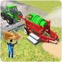Tractor Thresher Games 3D: Farming Games icon