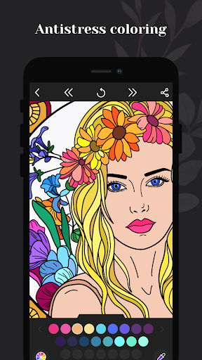 Coloring book for me - Mandala & Antistress 2.2.2.17 screenshots 1