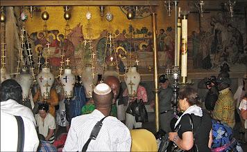 Photo: Иерусалим.Храм Гроба Господня. Стена Воскресенского собора.