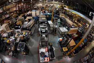 Photo: Pretty much everything you'll be seeing at CES, packed up and ready to be shipped from our San Jose warehouse