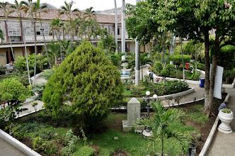 Photo: Santa Ana: Innenhof des kolonialen Rathauses